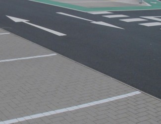 Carpark Line Marking in Alcester
