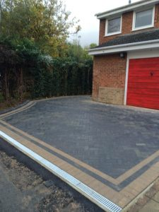 Block Paving in Rock